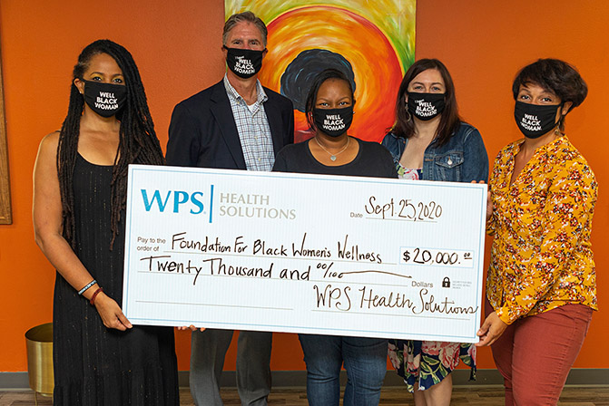 WPS Health Solutions donates $20,000 to The Foundation for Black Women's Wellness