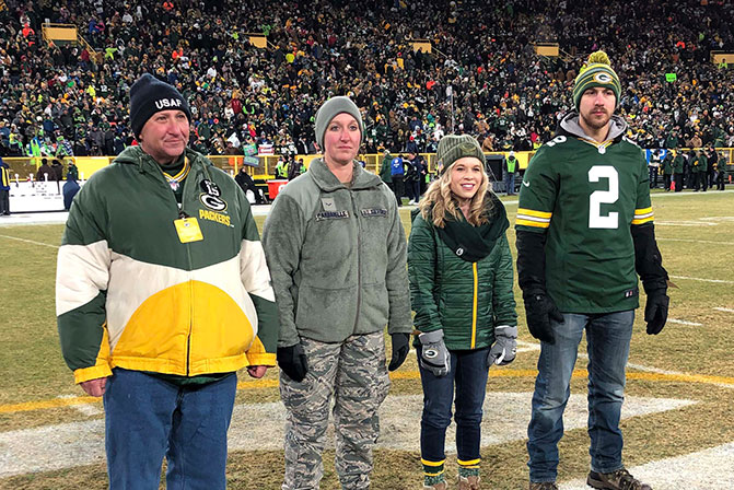 Packers, WPS Health Solutions salute Cardarelle family for Operation Fan Mail